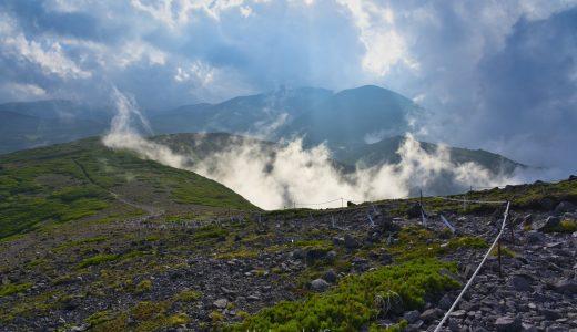大雪山、黒岳に登ってきた!大雪山の広大な風景とシマリスかわいいです!