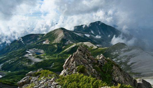 北アルプス、白馬岳に栂池高原から1泊2日ピストンで登ってみた!